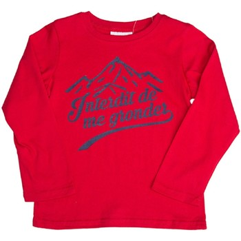 Vêtements Enfant Sweats Interdit De Me Gronder ANAPURNA Rouge