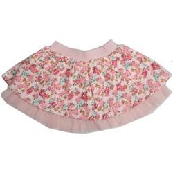 Vêtements Fille Jupes Interdit De Me Gronder Jupe tutu rose fleurie et avec froufrous VANILLA Rose pâle