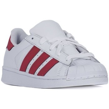 Chaussures Enfant Baskets basses adidas Originals Superstar Foundation Blanc
