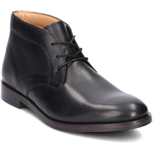 Clarks Corfield Mid Noir - Chaussures Boot Homme