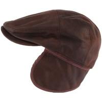 Accessoires textile Homme Casquettes Aussie Apparel Casquette cache oreille cuir suédine marron Epsom Marron