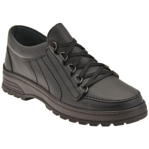 Chaussures Homme Derbies Alisport Laçage rapide Baskets basses Noir