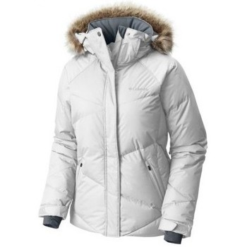 Blouson Columbia lay d down jacket white veste