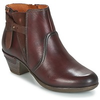 Chaussures Femme Bottines Pikolinos ROTTERDAM 902 Marron