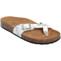 Chaussures Femme Tongs Summery  Bianco