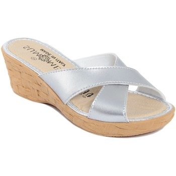 Chaussures Femme Mules Summery  Argento