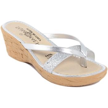 Chaussures Femme Sandales et Nu-pieds Summery  Argento