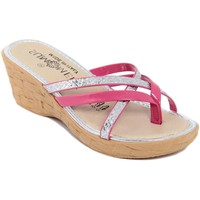 Chaussures Femme Tongs Summery  Rosa