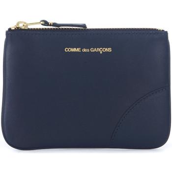 Sacs Portefeuilles Comme Des Garcons Sac à enveloppe  en peau bleu Bleu