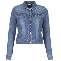 Vêtements Femme Vestes en jean Noisy May NMDEBRA Bleu medium