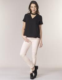 Vêtements Femme Pantalons 5 poches Noisy May NMLUCY Rose