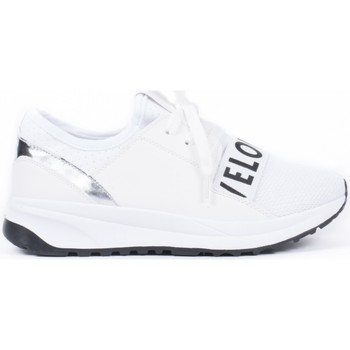 Chaussures Femme Baskets basses Pomme Passion Baskets style running bi-matière Amaurie Blanc