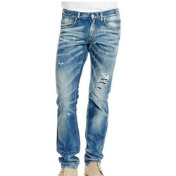 Vêtements Homme Jeans slim Meltin'pot MARTIN SLIM FIT Bleu