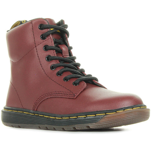 Chaussures Enfant Boots Dr Martens Malky L rouge