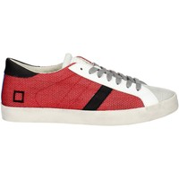 Chaussures Homme Baskets basses Date D.a.t.e. E18-133 Petite Sneakers Homme Rouge Rouge