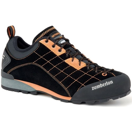 Zamberlan 125 Intrepid RR Graphite-Noir-Orange - Chaussures Baskets basses Homme
