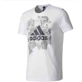 Vêtements Homme T-shirts manches courtes adidas Originals Badge Sports Blanc
