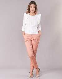 Vêtements Femme Chinos / Carrots Only PARIS Rose