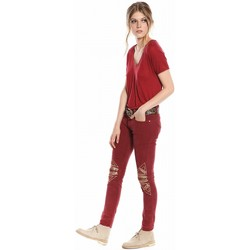 Vêtements Femme Pantalons Bérénice THEGIPSY Griotte