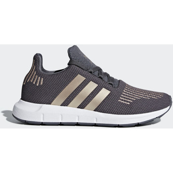 Chaussures Fille Baskets mode adidas Originals Chaussure Swift Run Marron / Blanc