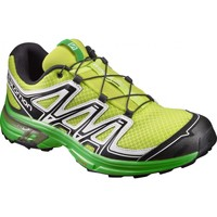 Chaussures Homme Randonnée Salomon Chaussures Trail  Wings Flyte 2 Lime Punch./black/white Green lime