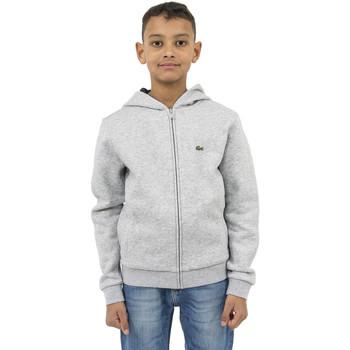 Vêtements Garçon Sweats Lacoste sj2903 gris