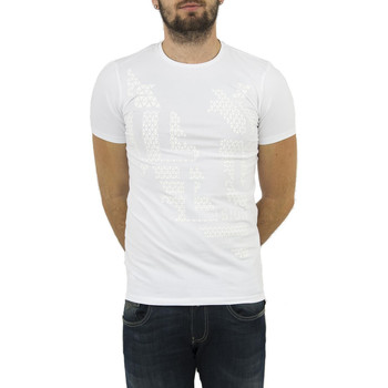 Vêtements Homme T-shirts manches courtes Salsa tee shirt  119447 palm beach blanc blanc
