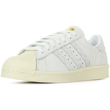 Chaussures Femme Baskets mode adidas Originals Superstar 80S blanc