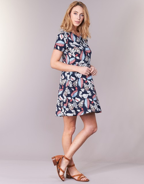 IYURTOLAL  Casual Attitude  robes courtes  femme  bleu