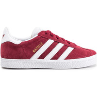 Chaussures Enfant Baskets basses adidas Originals Gazelle Enfant Blanc/Bordeaux