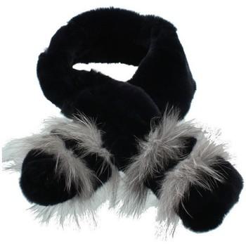 Accessoires textile Homme Echarpes / Etoles / Foulards Pallas Cuir Echarpe en Fourrure  Selection ref_pst42375 noir Noir