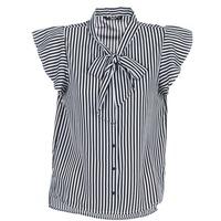 Vêtements Femme Tops / Blouses Only ELENA Noir / Blanc