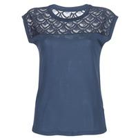 Vêtements Femme T-shirts manches courtes Only NICOLE Marine