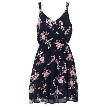 Vêtements Femme Robes courtes Only KARMEN Noir 8aae2c2e732f