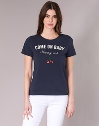 Vêtements Femme T-shirts manches courtes Only KITA Marine