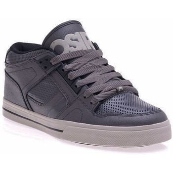 Chaussures Homme Baskets basses Osiris Basket montante Homme  NYC 83 MID Vlc Charcoal black EU42 9US sk Gris
