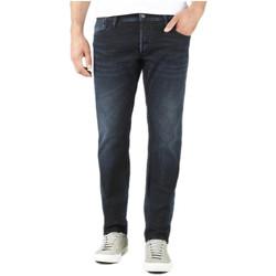 Vêtements Homme Jeans droit Le Temps des Cerises Jeans Homme WC659 Black/Blue 19