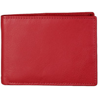Sacs Femme Portefeuilles Buzzao Portefeuilles homme 100% cuir rouge Made in Italia - GROSSETO Rouge