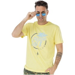 Vêtements Homme T-shirts manches courtes Picture Organic Clothing Borabora Tee PALE YELLOW
