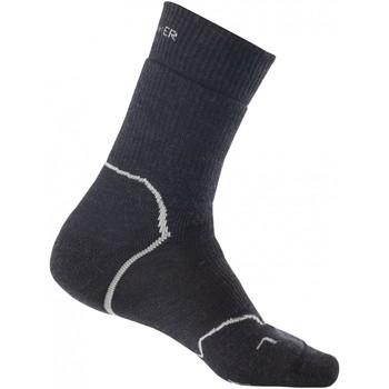 Accessoires Homme Chaussettes Icebreaker M Hike+heavy Crew JET TWISTER/BLACK
