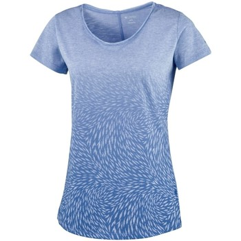 Vêtements Femme T-shirts & Polos Columbia W Ocean Fade Ss Tee bleu turquoise