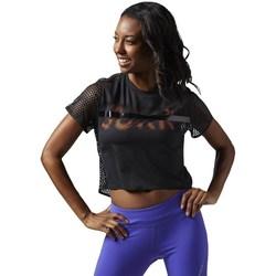 Vêtements Femme T-shirts manches courtes Reebok Sport Cardio Tee Noir