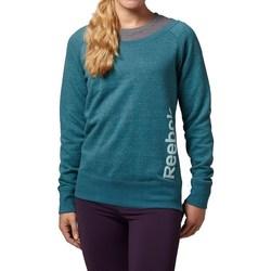 Vêtements Femme Sweats Reebok Sport Sel Melange Crew Vert