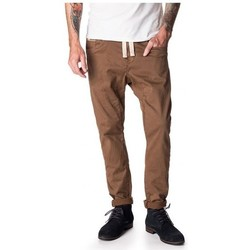 Vêtements Homme Pantalons 5 poches Pull-in Pantalon  Dening - Epic Tobacco Marron