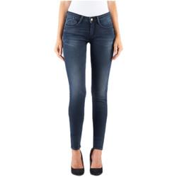 Vêtements Femme Jeans skinny Le Temps des Cerises Jeans Slim Femme Bleu JFPOWER3WC698 19