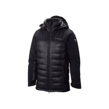 Blouson Columbia heatzone 1000 turbodown hooded jkt black veste