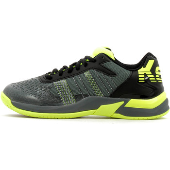 Chaussures Homme Sport Indoor Kempa Attack Contender Caution Junior Noir / Anthracite / Jaune Fluo