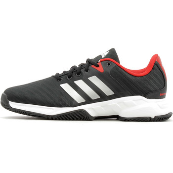 Chaussures Homme Sport Indoor adidas Performance Barricade Court 3 Homme Core Black / Footwear White / Scarlet