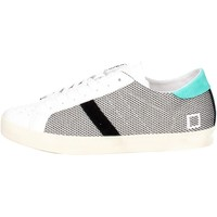 Chaussures Homme Baskets basses Date D.a.t.e. HILL LOW-32E Petite Sneakers Homme Blanc Blanc