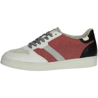 Chaussures Homme Baskets basses Date D.a.t.e. E18-11 Petite Sneakers Homme Blanc/Rouge Blanc/Rouge